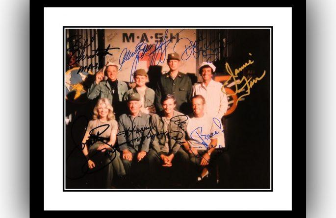 Mash Signed Photograph