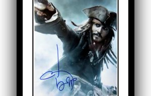 #3 Pirates of the Caribbean Signed Photograph