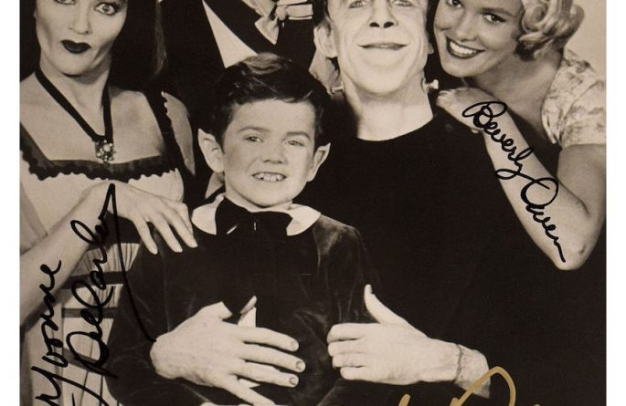 The Munsters Signed Photograph