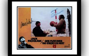 One Flew Over The Cuckoo's Nest Signed Lobby Card