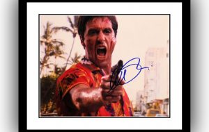 Scarface Signed Photograph