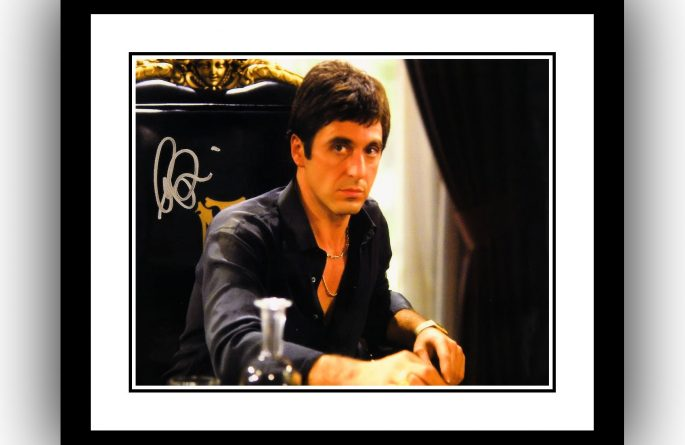 #2 Scarface Signed Photograph