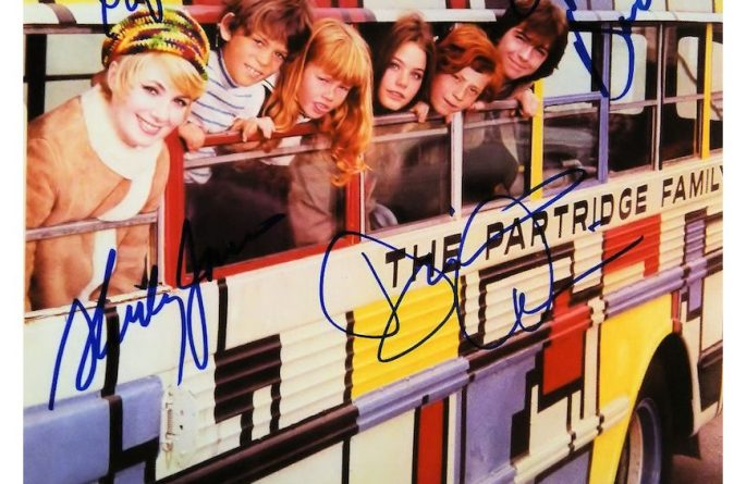 The Partridge Family Signed Photograph