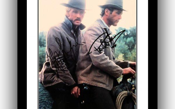 #2 Butch Cassidy & The Sundance Kid Signed Photograph