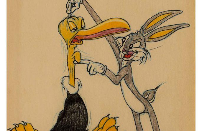 Virgil Ross – Beaky Buzzard & Bugs Bunny