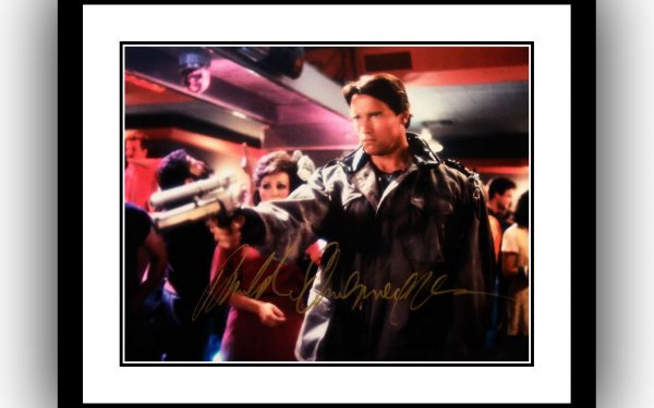 Total Recall Signed Photograph