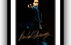 The Terminator Signed Photograph