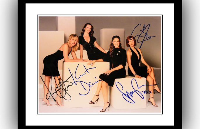 Sex In The City Signed Photograph