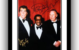 The Rat Pack Signed Photograph