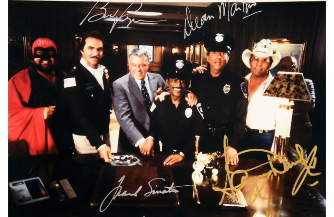 #2 The Rat Pack Signed Photograph