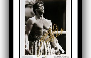 Rocky IV Signed Photograph