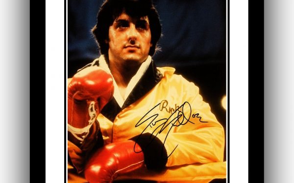 Rocky Signed Photograph