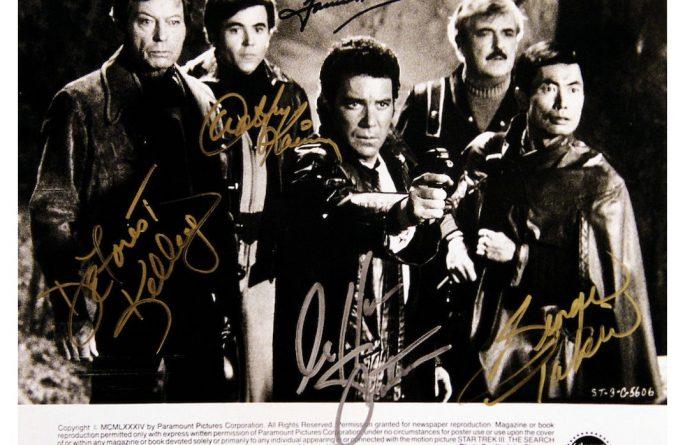 Star Trek III Signed Photograph