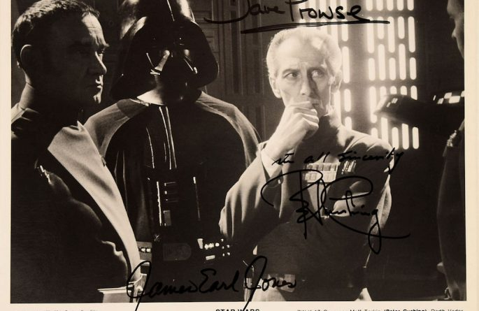 Star Wars Signed Photograph
