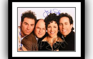 Seinfeld Signed Photograph