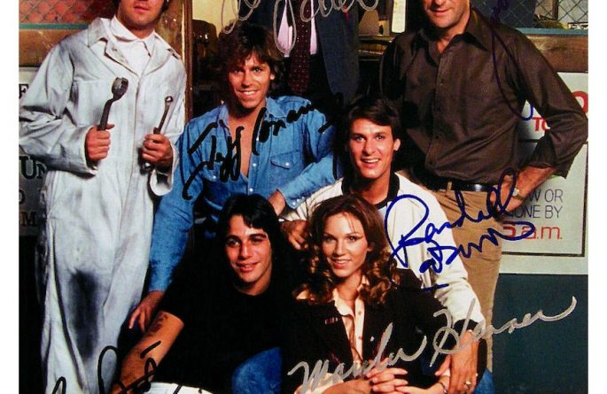 Taxi Signed Photograph