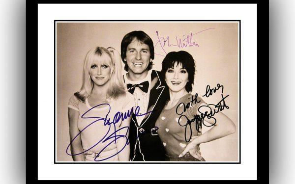 Three's Company Signed Photograph