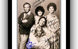 #2 Three's Company Signed Photograph