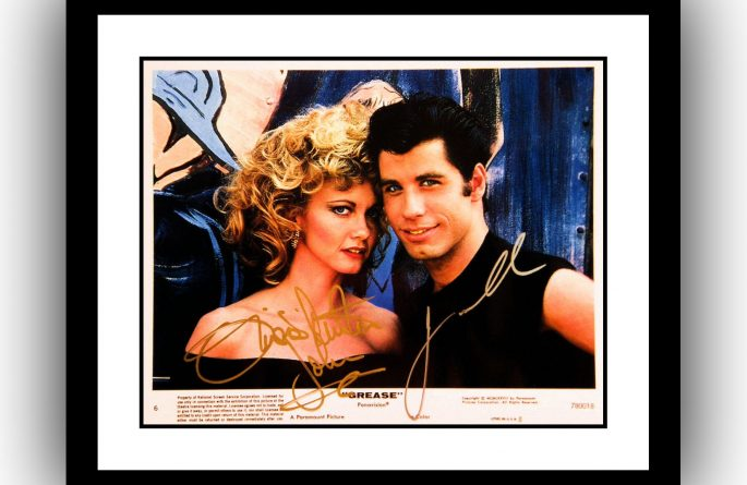 Grease Signed Photograph