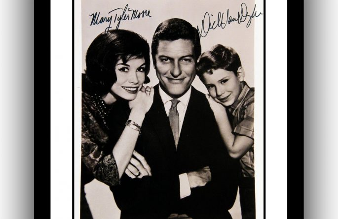 The Dick Van Dyke Show Signed Photograph