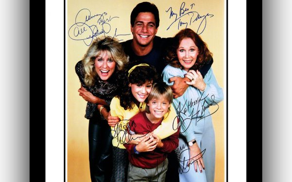 Who's The Boss Signed Photograph