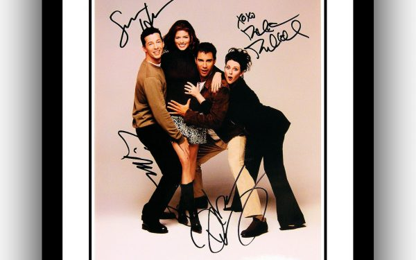 Will & Grace Signed Photograph