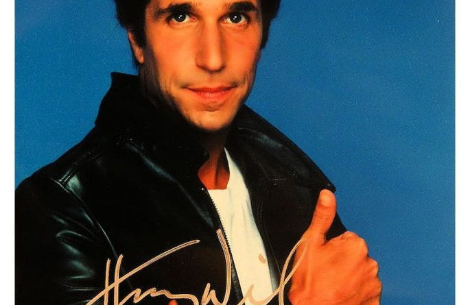 #3 Happy Days Signed Photograph