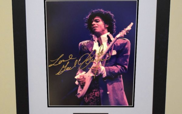 #3 – Prince Signed 8×10 Photograph