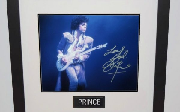 #1 – Prince Signed 8×10 Photograph