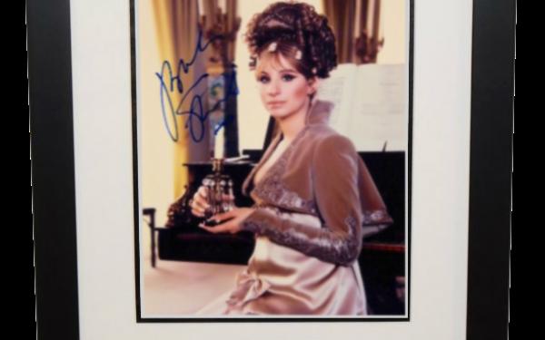 #3-Barbra Streisand Signed 8×10 Photograph