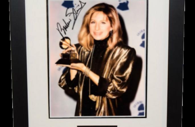 #2-Barbra Streisand Signed 8×10 Photograph