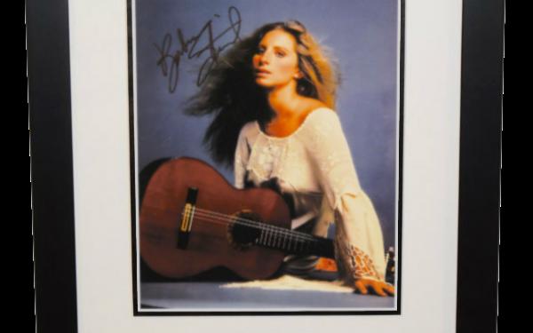 #1-Barbra Streisand Signed 8×10 Photograph