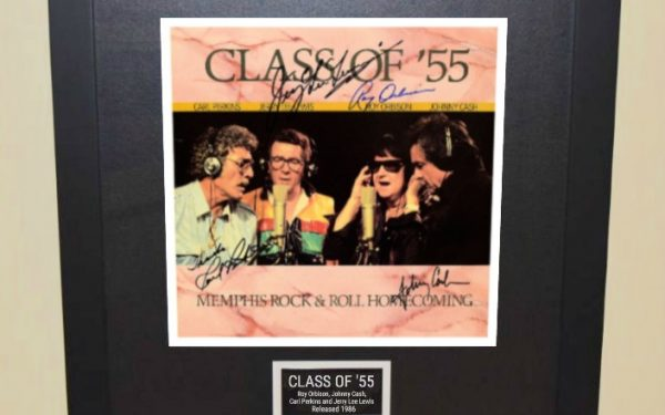 Roy Orbison, Johnny Cash, Carl Perkins and Jerry Lee Lewis – Class Of '55