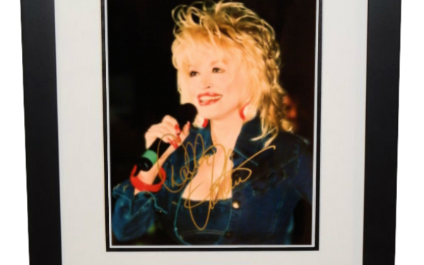 #2-Dolly Parton Signed 8×10 Photograph