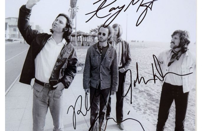 The Doors Signed 8×10 Photograph