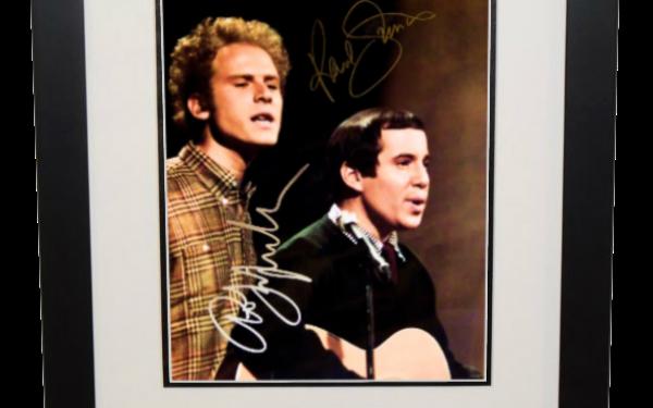 Simon & Garfunkel Signed 8×10 Photograph