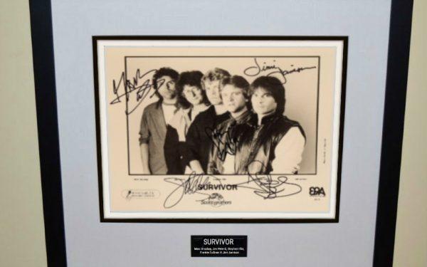 Survivor Signed 8×10 Photograph