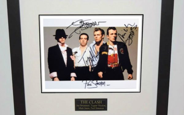 #3-Clash Signed 8×10 Photograph