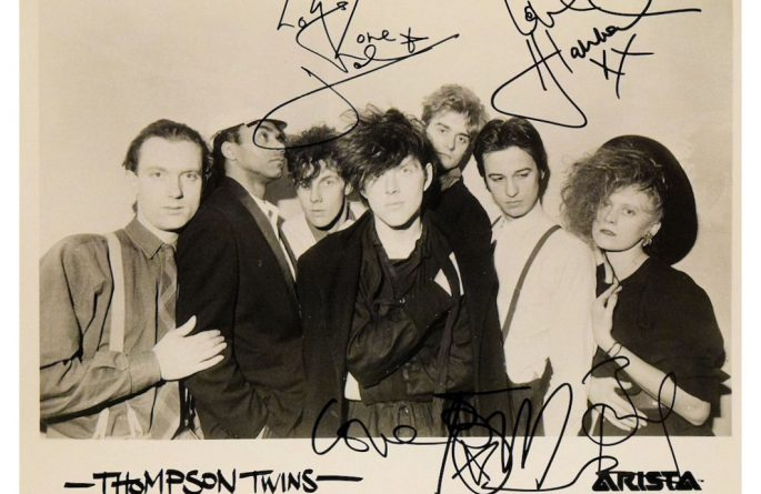 Thompson Twins Signed 8×10 Photograph