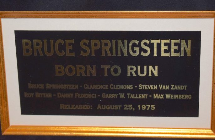 #1-Bruce Springsteen – Born To Run