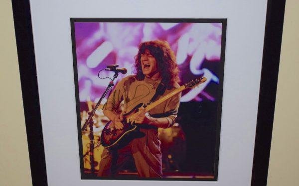 #14-Eddie Van Halen Signed 8×10 Photograph