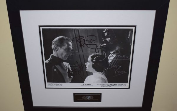 Star Wars Signed 8×10 Photograph