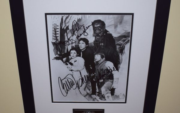 #2-Star Wars Signed 8×10 Photograph