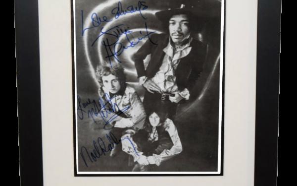Jimi Hendrix Signed 8×10 Photograph