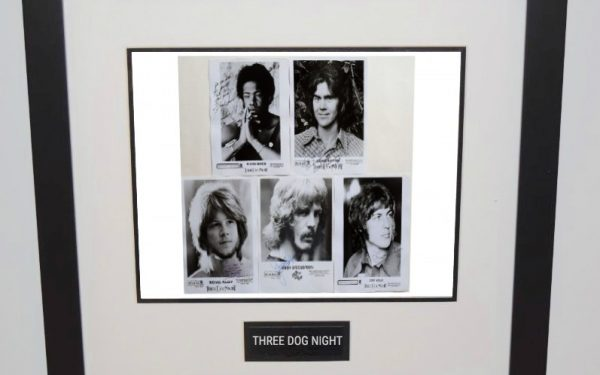 Three Dog Night Signed 8×10 Photograph