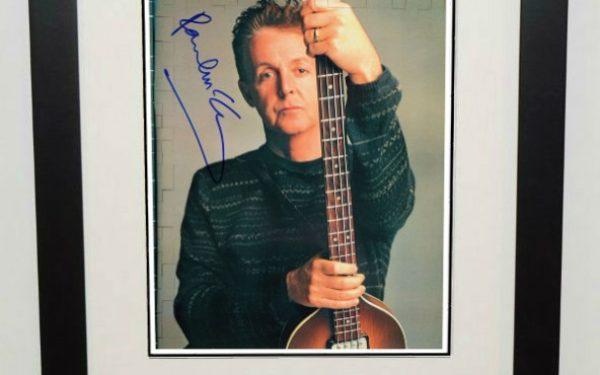 #4-Paul McCartney Signed 8×10 Photograph
